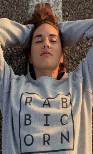 Rabbicorn Sweater Lea Grey